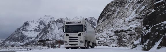 Truckwash Winter