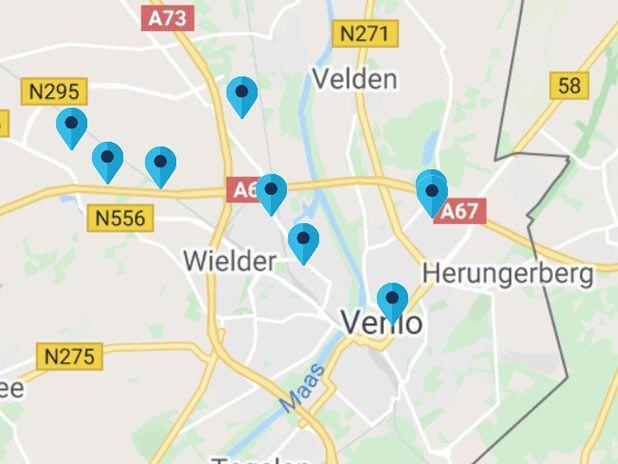 map Travis